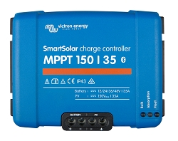 Victron Energy SCC115035210 Smart Solar MPPT 150/35 Charge Controller with Bluetooth
