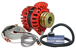 Balmar XT-DF-170-DV-KIT alternator kit with Max Charge regulator