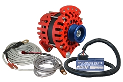 Balmar XT-DF-170-J10-KIT alternator kit with Max Charge regulator