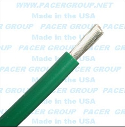 Marine Tinned wire 12 awg Green - sold by the foot