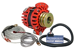 Balmar XT-SF-170-DV-KIT alternator kit with Max Charge regulator