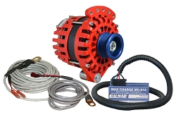Balmar XT-SF-170-J10-KIT alternator kit with Max Charge regulator