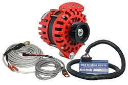 Balmar XT-SF-170-K6-KIT alternator kit with Max Charge regulator