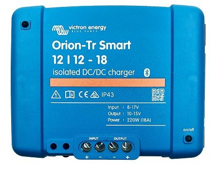 Victron Energy ORI121222120 Orion-Tr Smart 12/12-18A Isolated DC-DC charger
