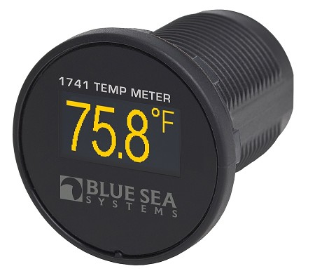 Blue Sea 1741 Mini OLED Temperature Monitor