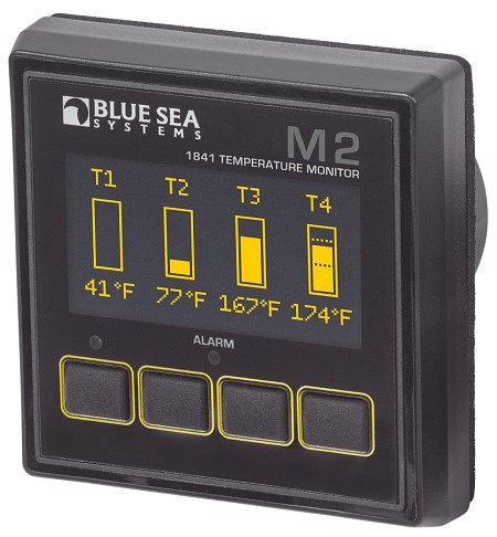 Blue Sea 1841 OLED Temperature Monitor