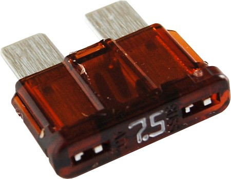 Blue Sea 5240 ATO/ATC Fuse 7.5 Amp (2 pack)