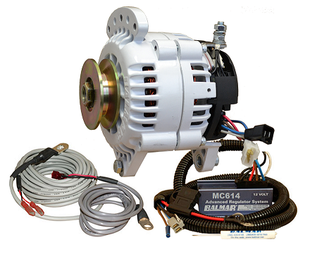 Balmar 60-YP-MC-100-SV Alternator and regulator kit -12 Volt 100 Amp Single Pulley