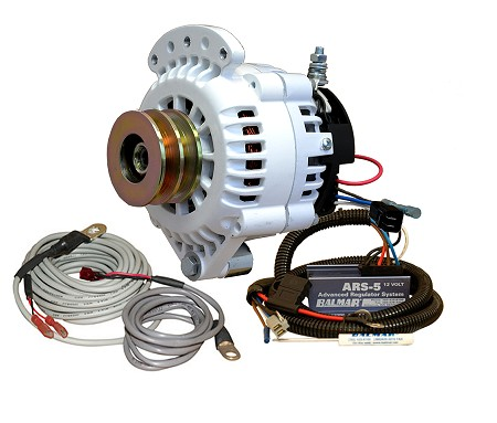 Balmar 621-VUP-150-DV Alternator and regulator kit -12 Volt 150 Amp Dual Pulley