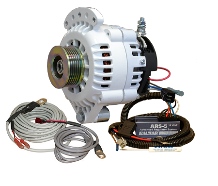 Balmar 621-VUP-70-K6 Alternator and regulator kit -12 Volt 70 Amp K6 Pulley