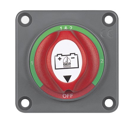 BEP 701S-PM Panel Mounted Mini Battery Selector Switch