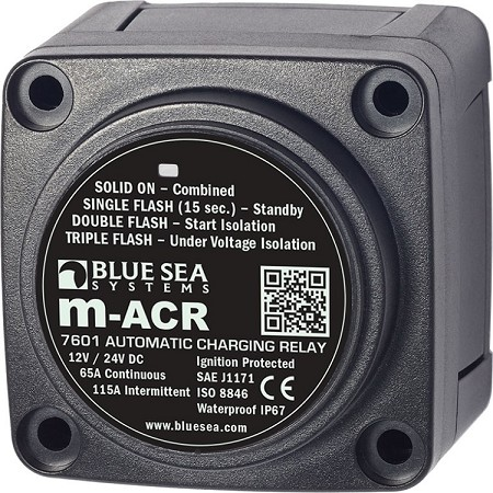 Blue Sea 7601 Mini Automatic Charge Relay