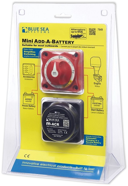 Blue Sea 7649 Mini Add-A-Battery System