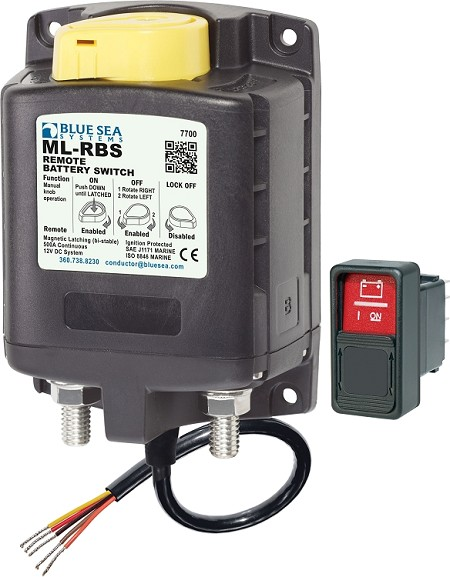 Blue Sea 7700 ML-Series Solenoid 500 Amps 12V