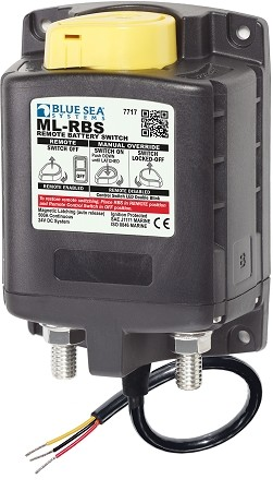 Blue Sea 7717 Remote Battery Switch with lock - 24 Volt