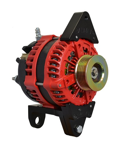 Balmar AT-DF4-200-K6 alternator 200 Amps 12 Volts