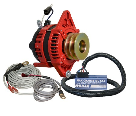 Balmar AT-SF-200-DV-KIT alternator kit with Max Charge regulator