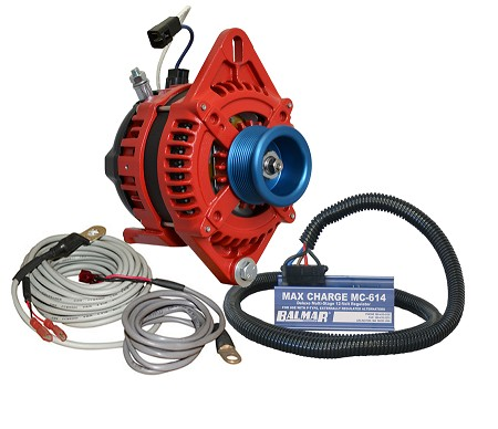 Balmar AT-SF-200-J10-KIT alternator kit with Max Charge regulator