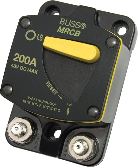 Blue Sea 7149 Surface Mount 187-Series 200A DC Circuit Breaker