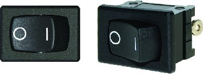Blue Sea 7495 Rocker Switch DPDT (On)-Off-(On)