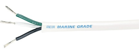 Ancor Triplex Cable, 14/3 AWG (3 x 2mm²), Round - sold by the foot