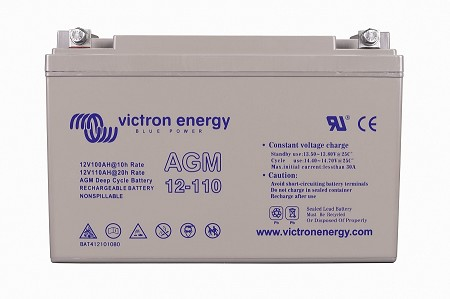 Victron Energy 12V/110Ah AGM Deep Cycle Battery