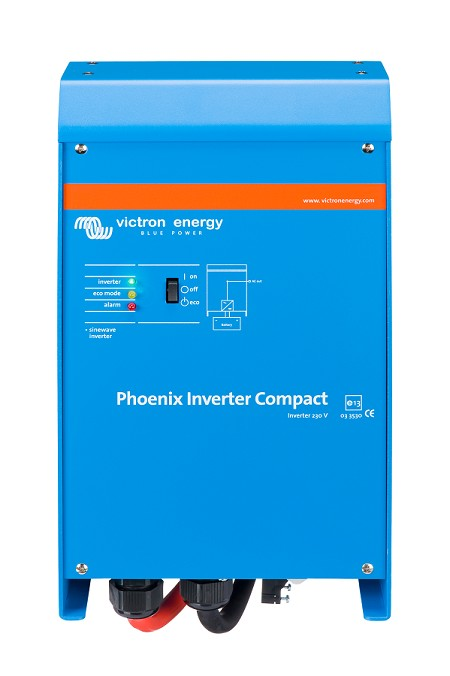 Victron Energy Compact Phoenix Sine Wave Inverter 12/1200  for 12 VDC and 230 VAC