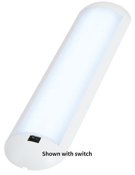 Frensch IL0303  F-30.1 Stream w/switch, White Finish, Warm White LED, 12VDC
