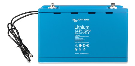 Victron Smart LiFePO4 Lithium Iron Phosphate Battery 12,8 Volts 100 Ah