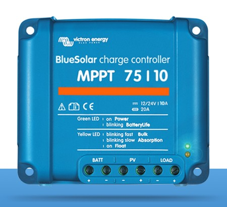 Victron Energy SCC010010050R   BlueSolar MPPT 75/10 Charge Controller