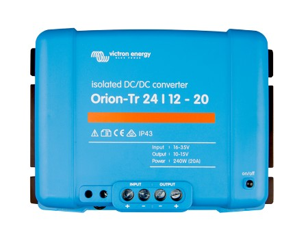 Victron Energy Orion-Tr 24/12-20 (240W) Isolated DC-DC converter ORI241224210