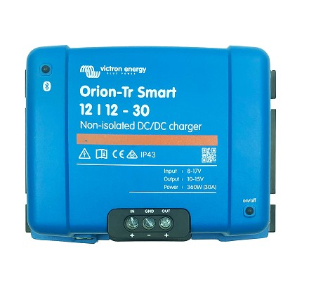 Victron Energy ORI121236140 Orion-Tr Smart 12/12-30A Non-Isolated DC-DC charger