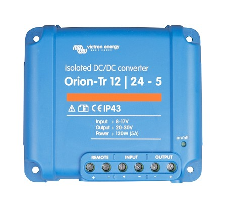 Victron Orion 12/24-5 Step-Up Isolated DC/DC  Converter (120W)