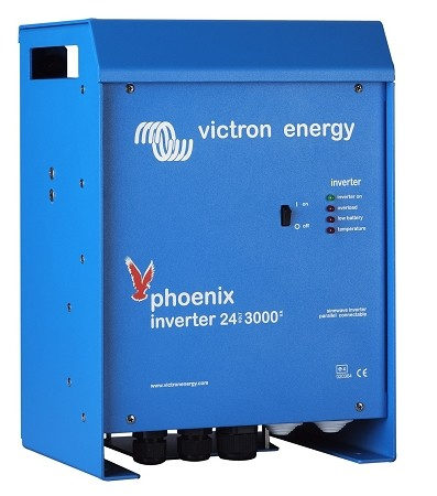 Victron Energy PIN243020100 Phoenix Sine Wave Inverter 24/3000 120 Volts