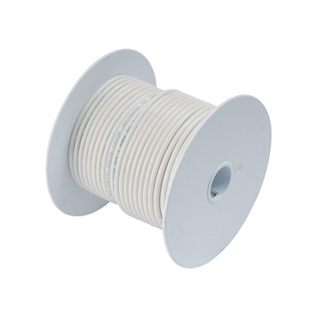 Ancor 104910 Marine Tinned wire 14 awg White - 100 ft roll